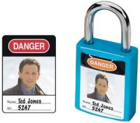 Padlock Identification Labels